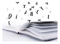 libro letras volando