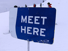 Meet here by Joe Shalbotnik used under Creative Commons License CC BY 2.0